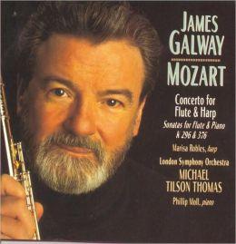 Mozart: Concerto for Flute & Harp, K299; Sonatas for Violin & Piano,  K296 & K376