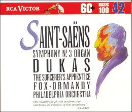 Saint-Saens: Symphony No3; Samson et Dalila