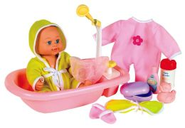 Baby's Bath Time Brittany 12 inch doll