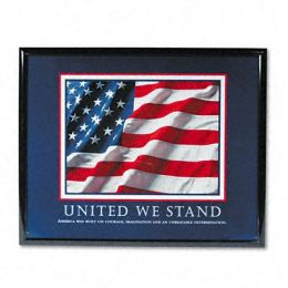 Advantus 78036 United We Stand Framed Motivational Print 31-1/2w x 25-1/2h