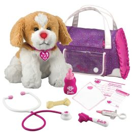 Barbie Pet Doctor Hug 'n Heal - Brown and White Beagle