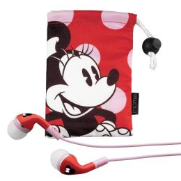 KIDdesigns DM-M15 Minnie Mouse Noise Isolating Earphones