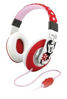 KIDdesigns DM-M40 Minnie Mouse Over the Ear Headphones