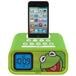 KIDdesigns DK-H22 Kermit Alarm Clock Speaker System