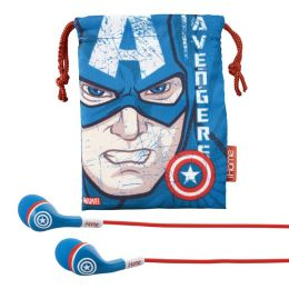 KIDdesigns MC-M15 Captain America Earbuds