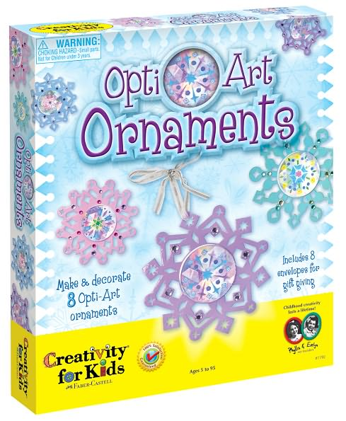 OptiArt Snowflake Ornament Kit