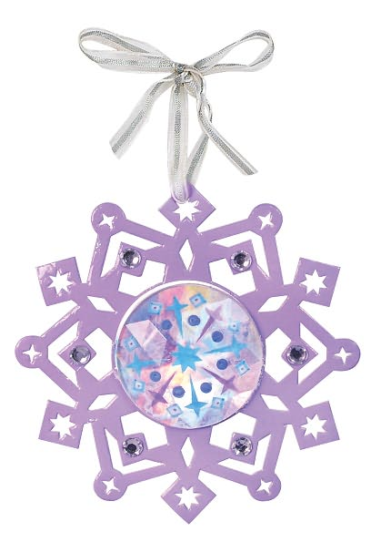 OptiArt Snowflake Ornament