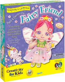 Paint and Decorate Fairy Friend
