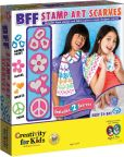 Product Image. Title: BFF Stamp Art Scarves