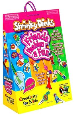 Shrinky Dinks Friends, Fashion & Fun