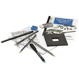 Creative Studio Getting Started Art Kit-Drawing & Sketching