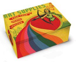Art Supply Tin Box