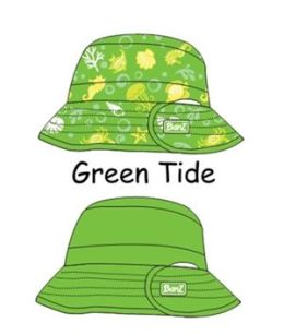 Baby Banz-KHRGT UV Reversible Bucket Hat-Green Tide-Ages 2-5