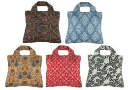 Rosa Reusable Tote Bags, Set of 5