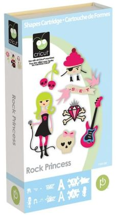 Cricut Shape Cartridge-Rock Princess