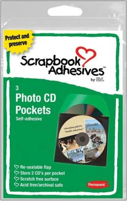 Photo CD Pockets 3/Pkg-Clear 5