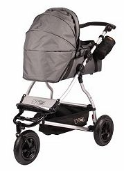 2011 Mountain Buggy Swift Carrycot In Flint