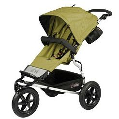 2011 Mountain Buggy Urban Jungle Single In Moss Dot