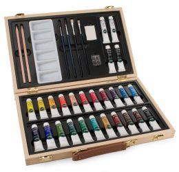 Superior Acrylic Colour Box Paint Set