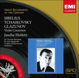 Sibelius, Tchaikovsky, Glazunov: Violin Concertos