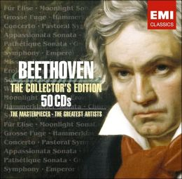 Beethoven: The Collector's Edition - The Masterpieces, The Greatest Artists [50 CDs]