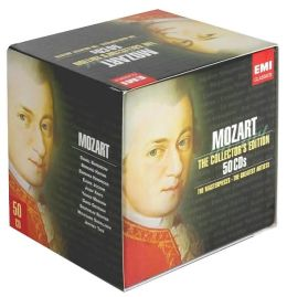 Mozart: The Collector's Edition - The Masterpieces, The Greatest Artists [50 CDs]