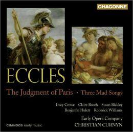 John Eccles: The Judgment of Paris