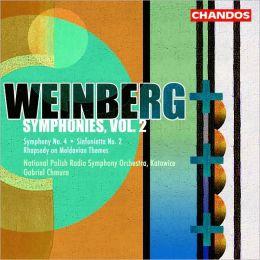 Weinberg: Symphonies, Vol. 2