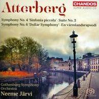 Atterberg: Symphony No. 4 'Sinfonia piccola'; Suite No. 3; Symphony No. 6 'Dollar Symphony'; En värmlandsrapsodi