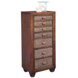 Home styles 5402-47 Cabana Lingerie-Jewelry Cabinet Cocoa Finish