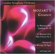 Mozart's Greatest