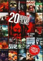 20-Film Horror 5 (4pc) / (Full Ws)
