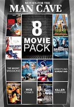 8-Movie Pack: Movies for the Man-Cave