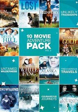 10-Movie Adventure Pack (2pc) / (Full)
