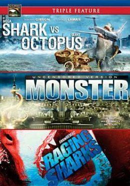 Mega Shark Vs. Giant Octopus/Monster/Raging Sharks