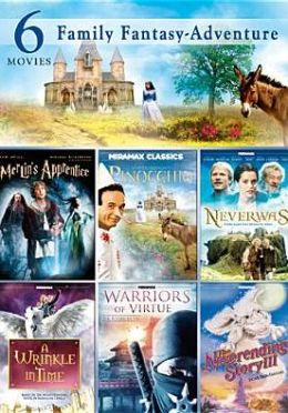 6 Film Family Fantasy / Adventure (2pc) / (Slim)