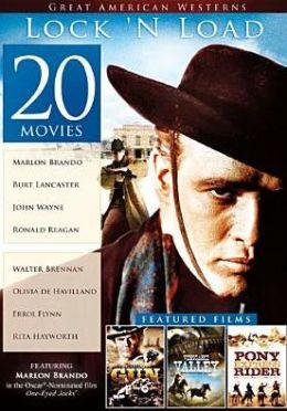 20-Film Great American Westerns: Lock N Load (4pc)