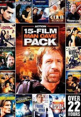 15-Film Man Cave Pack: Action, Vol. 1