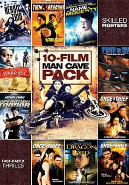 10-Movie Man Cave Action