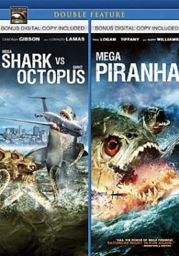Mega Shark Vs. Giant Octopus/Mega Piranha