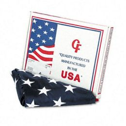 Advantus MBE002460 All-Weather Outdoor U.S. Flag 100 Percent Heavyweight Nylon 3 ft. x 5 ft.