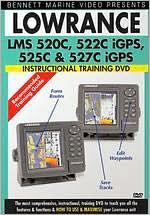 Lowrance LMS 520c, 522c, Igps, 525c and 527c Igps