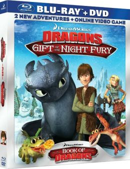 Dreamworks Dragons: Gift of the Night Fury & Book of Dragons