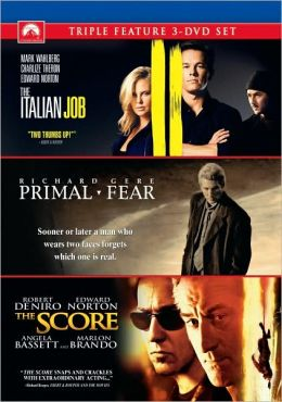 The Italian Job / Primal Fear / The Score