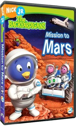 the backyardigans mission to mars book - photo #1