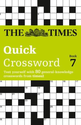 Times 2 Crossword Book 7