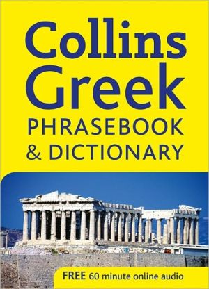 Collins Greek Phrasebook and Dictionary