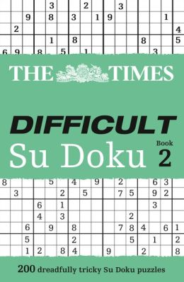 The Times: Difficult Su Doku Book 2