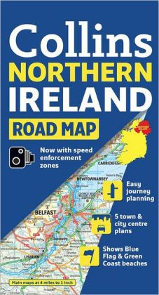 Northern Ireland Road Map