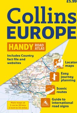 2010 Collins Handy Road Atlas Europe